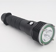 Lights LED Flashlights/Torch LED 4800 Lumens 2 Mode 18650 / 18350 / 26650 WaterproofCamping/Hiking/Caving / Everyday Use / Diving/Boating