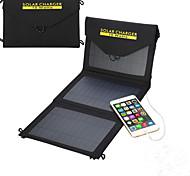 10w 5v salida USB cargador plegable del panel solar