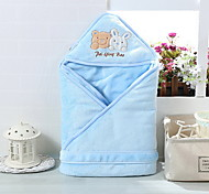 Sommer Säugling swaddle pod Baby Flanelldecke pink / gelb / blau