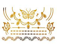 -Tatuajes AdhesivosPlantillas para Tatuajes Temporales- paraMujer Adulto--Papel--