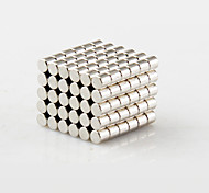 Magnet Toys 100Pcs 2x2mm Magnet Toys / Super Strong Rare-Earth Magnets / Neodymium Magnet Executive Toys Puzzle Cube DIY ToysMagnetic