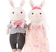 Tyra M Rabbit Weddingdolls, Plush Toys,c