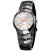 Women's Fashion Watch Water Resistant / Water Proof Casual Watch Quartz Stainless Steel Band Black