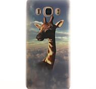 Giraffe Pattern TPU + IMD Phone Case for Galaxy J1/J1(2016)/J1 ACE/J5/J5(2016)/J7(2016)/G350/G355/G357/G360/G530