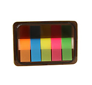 Box Package Fluorescent Color Self-Stick Note(Assorted Color)