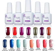 ILuve Nail Polish For Nail Art UV Gel Odorless Long Lasting Soak Off 15ml/per Bottle  238 Color Choices GLA1019-1061