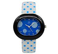 Women's Casual Fashion Diamond Quartz Watch Leather Band Wrist Watch