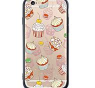 Для Ультратонкий / С узором Кейс для Задняя крышка Кейс для Плитка Мягкий TPU Apple iPhone 6s Plus/6 Plus / iPhone 6s/6