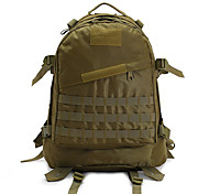 40 L Rucksack Camping & Hiking Waterproof Khaki 420D Nylon