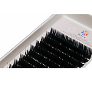 A box has 12 rows of eyelashes wimpers Oogwimper Individuele wimpers Ogen / Oogwimper Dik Verlengde / Extra Volume Met de hand gemaakt