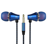Phone headset ear earbud headset sports jogging bass wire with wheat DT-201A