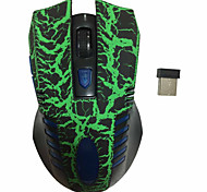 2.4GHz 6D Gaming Ergonomic Design Optical Wireless Mouse with Nano USB Receiver