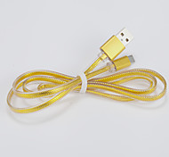 Flat Wire Usb Universal Headphone Cables for Samsung Galaxy Note 4/S7/S6/S4/S3/S2 and HTC/Huawei/SONY/Millet(1M)