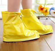 el nuevo antideslizante del desgaste impermeable del zapato de la lluvia cubre modelos femeninos adultos
