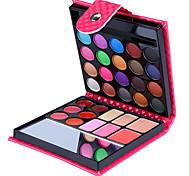 32 sombras de ojos colores de maquillaje desnuda belleza de larga duración comestic