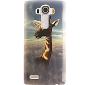 Giraffe Painting Pattern TPU Soft Case for LG G4/G4Mini/G4C/G3Mini/G3