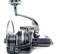 Molinetes Rotativos 5.5/1 12 Rolamentos Trocável Pesca no Gelo / Pesca de Gancho / Pesca de Água Doce / Pesca de Isco / Pesca Geral-6000