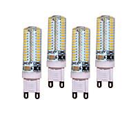 12W G9 Luces LED de Doble Pin T 104 SMD 3014 850 lm Blanco Cálido / Blanco Fresco Decorativa AC 100-240 V 4 piezas