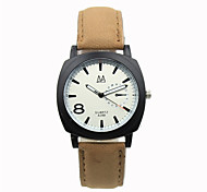 Brown Leather Belt Digital Pointer Minimalist  Holiday Gifts Watches