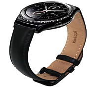 Leather Watchband For Samsung GEAR S2 CLASSIC