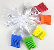 Bakeware Small Silicone Brush Barbecue Tea Sweep Sweep Brush Butter Oil Brush Silicone Brush 5Pcs