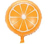 los globos de la fiesta de la boda (naranja)