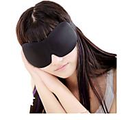 1 pcs venda quente 3d drapeados antolhos 3d Eyeshade nenhum vestígio de sono com óculos de sono nariz macio