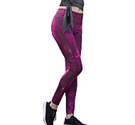 Running Tights Women's Quick Dry / Compression / Sweat-wicking Running Sports Blue / Purple