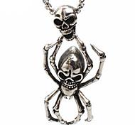 рок человек паук титана кулон ожерелье
