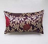 jacquard Cushion Cover-Purple