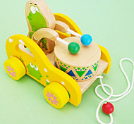 Cartoon Frog Drums Toy Car