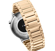 Three Solid Stainless Steel Metal Watch Strap Band For Huawei Watch(Assorted Colors)