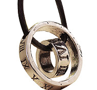 Stainless Steel Necklace - Circle Ring