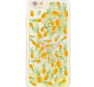 Flowing Quicksand Liquid Phone Fruit Pattern Case Back Cover for iPhone 6s Plus/6 Plus/iPhone 6s/6/iPhone 5s/5/SE