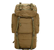 2 L Backpack Camping & Hiking Leisure Sports Multifunctional Brown 600D Ripstop Other