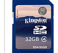 tarjetas de memoria Kingston 32gb tf class4 6000mb / s para la cámara