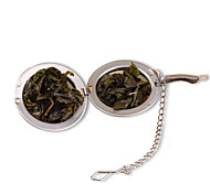 1PC Stainless Steel Sphere Locking Spice Tea Ball Strainer Mesh  tea strainer Filter Mesh Herbal Ball cooking tools