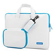 Pofoko® 13inch Waterproof One-shoulder Laptop Bag/Case Solid Color Pink/Blue
