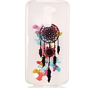 Dream Catcher Pattern Pattern Relief Glow in the Dark TPU Phone Case for LG K10/K8/K7/K5