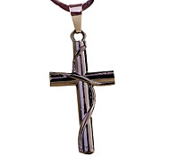 Winding Cross Pendant