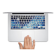 "Keyboard Decal Laptop Sticker Blue Univers for MacBook Air 13"" MacBook Pro Retina 13'/15"" MacBook Pro15"" MacBook Pro 17"