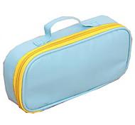Candy Color Portable High-capacity Canvas Pencil Case