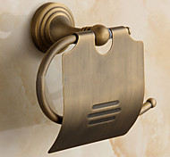 Toilet Paper Holder / Brushed / Wall Mounted /20*10*20 /Brass /Antique /20 10 0.334