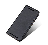 Ultra Slim Genuine Leather Stand Flip Case Cover with Magnetic Closure and 2 Card Slots for HTC M9