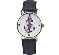Vintage Ship Anchor Watch Nautical Watch Women's Watch Men's Watch Pirate Ship Unisex Novelty Quirky Analog Gift Idea Fashion Watch Strap Watch
