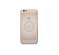 Back Cover Transparent / Pattern Mandala TPU Soft Case Cover For Apple iPhone SE/5s/5