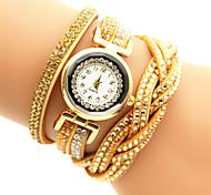 ocasional cuarzo de la manera de las mujeres relojes pulsera relojes relojes Relojes de los relojes únicos desfile de moda