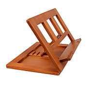 Wooden Adjustable Stand for Tablet Laptop Reading 34*23.5*2.8cm