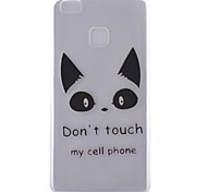 Cat Pattern Frosted TPU Material Phone Case for Huawei Ascend P9 Lite/P9/P8 Lite/P8