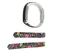 Smart Strap Bracelet Colorful Printing Silicone Bracelet For Fitbit Alta(21)